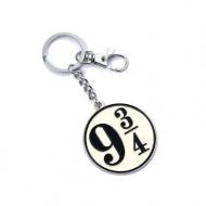Harry Potter - Porte-clés Platform 9 3/4 (plaqué argent)