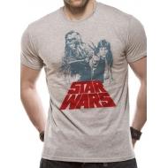 Star Wars - T-Shirt Solo Chewie Duet Retro