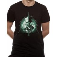 Les Animaux fantastiques 2 - T-Shirt Deathly Hallows Split