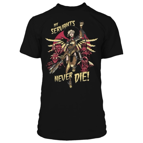 Overwatch - T-Shirt Premium Mercy Witch