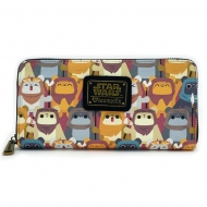 Star Wars - Porte-monnaie Ewok AOP By Loungefly