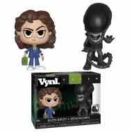 Alien - Pack 2 Vinyl figurines Ellen Ripley & Xenomorph 10 cm
