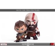 God of War - Pack 2 figurines Kratos & Atreus 7 - 9 cm