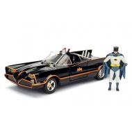 Batman - Maquette 1/24 métal Build N' Collect Diecast Kit Batmobile 1966 avec figurines