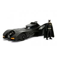 Batman - Maquette 1/24 métal Build N' Collect Diecast Kit Batmobile 1989  avec figurine