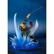 One Piece - Statuette FiguartsZERO Roronoa Zoro (Yakkodori) 19 cm