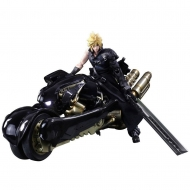 Final Fantasy VII Advent Children - Figurine Play Arts Kai Cloud Strife & Fenrir 28 cm