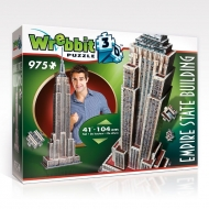 Wrebbit The Classics Collection - Puzzle 3D Empire State Building