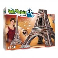 Wrebbit The Classics Collection - Puzzle 3D La Tour Eiffel