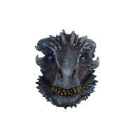 Game of Thrones - Masque latex White Walker Dragon