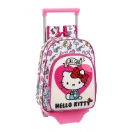 Hello Kitty - Sac à roulettes Mini Girl Gang 34 cm
