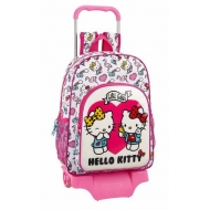 Hello Kitty - Valise à roulettes Girl Gang