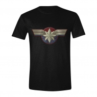 Captain Marvel - T-Shirt Chest Emblem