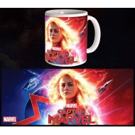 Captain Marvel - Mug Glowing