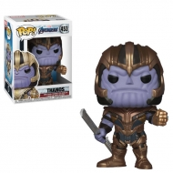 Avengers Endgame - Figurine POP! Thanos 9 cm