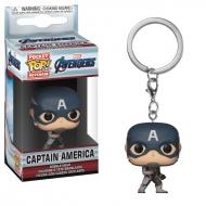 Avengers (Marvel) - Avengers Endgame porte-clés Pocket POP! Vinyl Captain America 4 cm