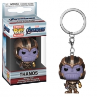 Avengers (Marvel) - Avengers Endgame porte-clés Pocket POP! Vinyl Thanos 4 cm