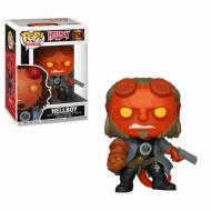 Hellboy - Figurine POP! Hellboy avec BPRD Tee 9 cm