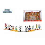 Disney - Pack 10 figurines Diecast Nano Metalfigs 4 cm