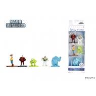 Disney Pixar - Pack 5 figurines Diecast Nano Metalfigs 4 cm