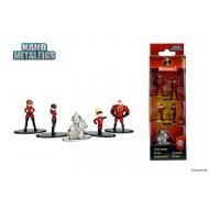 Disney - Pack 5 figurines Diecast Nano Metalfigs Les indestructibles 2 4 cm