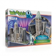 Wrebbit New York Collection - Puzzle 3D Financial