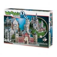 Wrebbit Castles & Cathedrals - Puzzle 3D Neuschwanstein Castle
