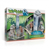 Wrebbit New York Collection - Puzzle 3D World Trade