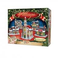 Wrebbit Panel Collection - Puzzle 3D Christmas Village