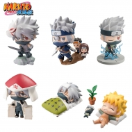 Naruto Shippuden - Pack Chara Land 6 trading figures Kakashi Special Set 5 cm