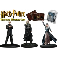 Harry Potter - Pack 3 figurines 35 mm Adventure Pack Malfoy Family
