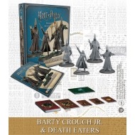 Harry Potter - Pack 4 figurines 35 mm Adventure Pack Wizarding Wars Barty Crouch Jr. & Death Eaters *ANGLAIS*