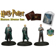 Harry Potter - Pack 3 figurines 35 mm Adventure Pack Slytherin Students *ANGLAIS*