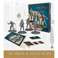 Harry Potter - Pack 4 figurines 35 mm Adventure Pack Scabior & Snatchers