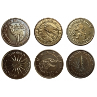 Game of Thrones - Pièces de collection Half-Pennies of 6 Houses