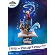 Disney - Diorama Mickey Beyond Imagination D-Stage The Sorcerer's Apprentice 15 cm