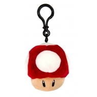 Mario Kart - Porte-clés peluche Mocchi-Mocchi Super Mushroom 10 cm