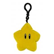 Mario Kart - Porte-clés peluche Mocchi-Mocchi Super Star 10 cm