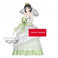 Sword Art Online Code Register - Figurine EXQ Wedding Suguha 23 cm