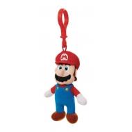 Super Mario - Porte-clés peluche Mario 8 cm