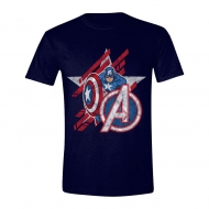 Avengers - T-Shirt Captain America Star
