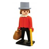 Playmobil - Figurine Vintage Collection Banquier 21 cm