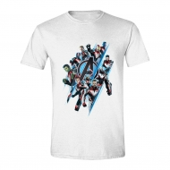 Avengers : Endgame - T-Shirt Diagonal Logo & Characters