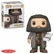 Harry Potter - Figurine POP! Super Sized Hagrid avec Cake 14 cm