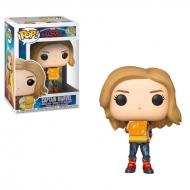 Captain Marvel - Figurine POP! Bobble Head Captain Marvel avec Lunch Box 9 cm