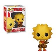 The Simpsons - Figurine POP! Lisa 9 cm