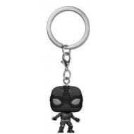 Spider-Man: Far From Home - Porte-clés Pocket POP! Spider-Man (Stealth Suit)  4 cm