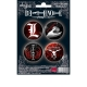DEATH NOTE - Pack de badges - Symboles 2