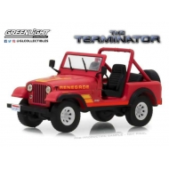 Terminator - Réplique 1/43 métal Sarah Conner's Jeep CJ-7 1983