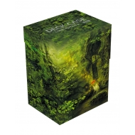 Ultimate Guard - Basic Deck Case 80+ taille standard Lands Edition II Forêt